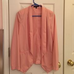 Pink Blazer In good condition! Make an offer! Honey Punch Jackets & Coats Blazers