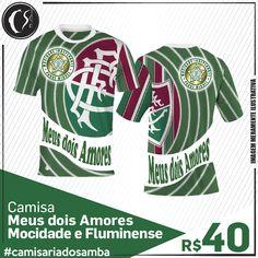 Camisa Meus dois Amores -  Mocidade e Fluminense