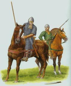 Norman Knight and his Squire c.1067