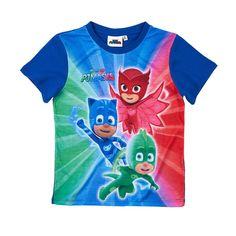 Original licensed PJ Masks Korte mouw T-shirts marineblauw of LamaLoLi ✓ All Sizes ✓ Fast Delivery Best Water Table, Festa Pj Masks, Kids Umbrellas, Bookmarks Kids, Lego Batman, Goodie Bags, Cheap Clothes, Kids Shirts, First Birthdays