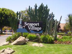 Seaport Village, San Diego, Ca.