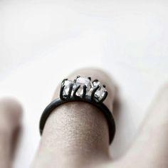 Unusual ring