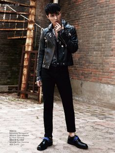 EXO Lay Vogue China Magazine 2015 Photoshoot