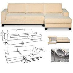 Как сделать угловой диван своими руками и перетянуть его: чертежи с размерами, схемы, фото