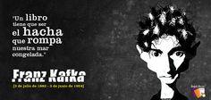 Homenaje a Franz Kafka en el 129° aniversario de su nacimiento.