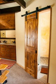 Sliding doors are the next big thing to hit home improvement. LOVE LOVE LOVE, so chic and beautiful!