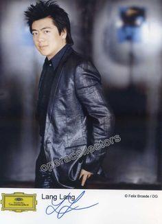 Lang, Lang - Signed photo