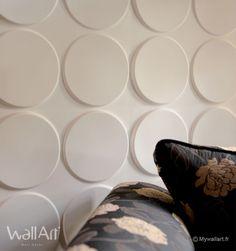 Revêtement mural : Panneaux muraux 3D Ellipses