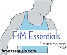 FTM Essentials - I got my binder through their free binder program! It's never been used, it's an Underworks tri top. They really go all out to help trans masc people feel less dysphoric! Wonderful business :)