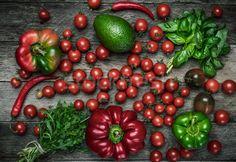 Fresh vegetables on wooden table in rustic style stock photo (c) Arsgera (#6168081) | Stockfresh