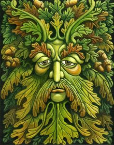 The Oak King by ravenscar45