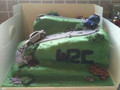 World Rally Championship Cake Nias Piece Of