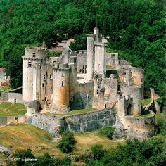 Bonaguil castle, France