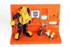 """LEGO Teletraan 1 a by """"Orion Pax"""", via Flickr"""