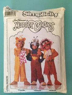 Jim Henson's Muppet Babies Sewing Pattern visit LAThriftMonkey