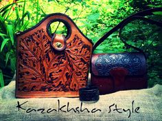 Hand crafted leather bags