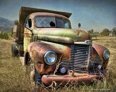Just Plain COUNTRY CHARM... Old truck.
