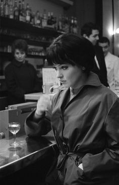 An icon of cinema, Danish-French actress Anna Karina came to prominence as French New Wave director Jean-Luc Godard's muse during this. Anna Karina, New Wave Cinema, Waves Icon, Berlin Film Festival, Style Parisienne, French New Wave, French Movies, Jean Luc Godard, French Actress