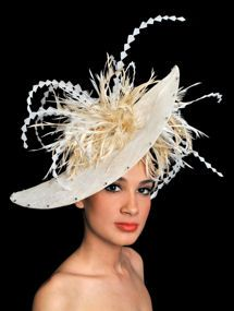 Ascot Hats by Ilda DiVico - the perfect hat for a wedding or a day at the races!