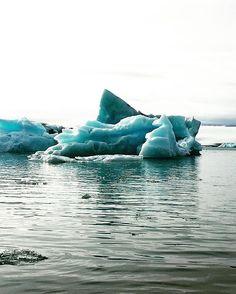 The glaciers were pretty amazing to see too! #jokulsarlon #glacier #iceland