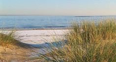 Looking forward to the beach soon - granted, this is in Scotland, but still reminds me of our beach.