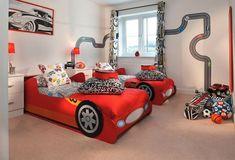 14 ideias de decoração para quarto infantil carros, para menino, meninas, irmãos e bebê. Aqui você encontra muitas dicas para diversas decoração de quarto.
