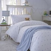 Blue Stars Organic Cotton Childrens Duvet Cover. From £14.