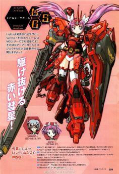RX-93 nu Gundam and MSN-04 Sazabi Ver. Ka - Gundam Girls - Gundam Kits Collection News and Reviews