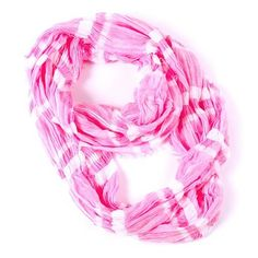 Striped Eternity Scarf | Claire's