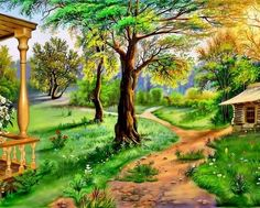 Beautiful landscape (500 pieces)
