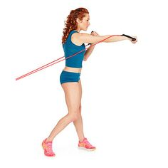 Resist-a-Punch: perfect for abs, arms and shoulders!