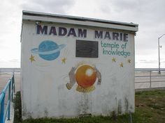 Madam Marie began telling fortunes on the Asbury Park boardwalk in the She passed away on June 2008 at the age of Jersey Girl, New Jersey, Asbury Park Boardwalk, The Boss Bruce, Never See You Again, Nj Beaches, Beach At Night, Local Legends, E Street Band