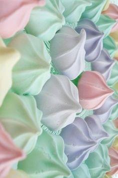 Pretty meringues.
