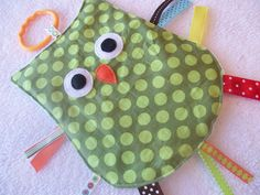 Adorable sensory owl, made by MBDesigns