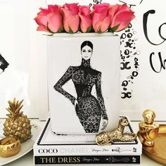 Megan Hess #fashionillustration #artluxedesigns #homedecor