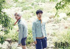Taemin and Minho - The Celebrity Magazine June Issue '15