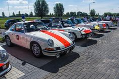 Old Dutch Politie Porsche Highway Police Patrol cars...MG