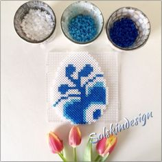 Påske-gække-brev i Hamaperler Hama Beads Design, Hama Beads Patterns, Beading Patterns, Diy For Kids, Crafts For Kids, Christmas Perler Beads, Peler Beads, Easter Cross, Iron Beads