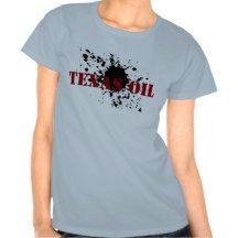 Women Oilfield Shirts Texas Oil Oil Smudge
