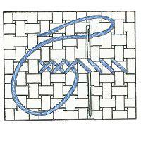 Create a cross-stitch heart cushion cover :: allaboutyou.com