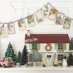 @cj4813 • Instagram photos and videos Primitive Country Christmas, Pink Truck, Vintage Dollhouse, Kitty, Photo And Video, Holiday Decor, Videos, Photos, Instagram