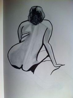 life drawing 2016 in black pen