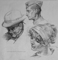 Garret's Drawing A Day Blog: J.C. Leyendecker