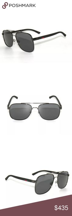7d07d966086c Gucci 0422S Sunglasses black Grey Frame New Comes with Gucci case