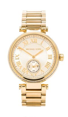 Michael Kors Skylar in Metallic Gold