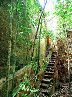 Central Playa Grande Sugar Mill Ruins- Vieques Island