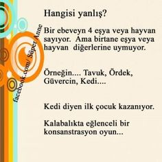 for memory development in children Games For Kids, Activities For Kids, Learn Turkish, English Activities, Time Kids, Forest School, Creative Thinking, Child Development, Kids Education
