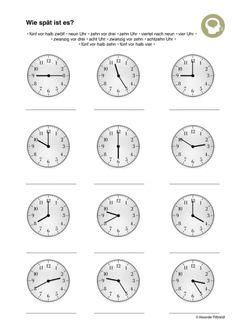 101 Besten Uhr Lernen Bilder Auf Pinterest Activities Baby