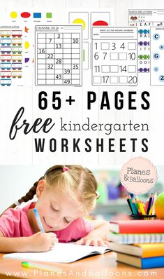 So many free worksheets for kindergarten! This website is so resourceful and most of all free, no need to sign up or anything. Great for kindergarten and preschool activities.