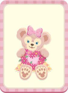 Bear Wallpaper, Kawaii Wallpaper, Pink Wallpaper, Cartoon Wallpaper, Duffy The Disney Bear, Disney Love, Disney Disney, Disney Cookies, Glitter Balloons